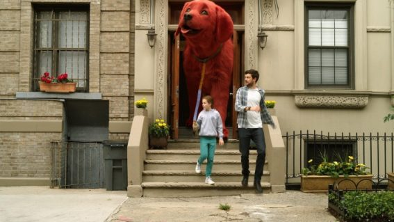Who let the gargantuan dogs out? Trailer and release date for Clifford the Big Red Dog