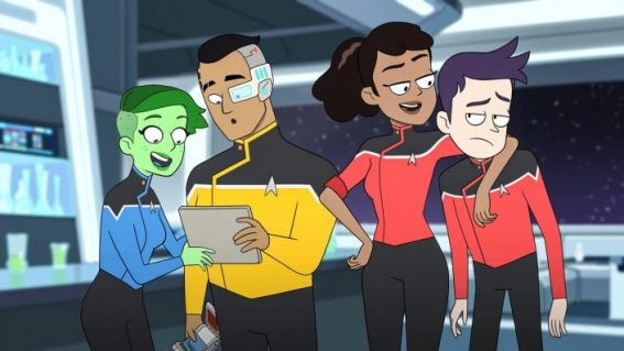 Australian trailer and release date for animated Trekkie spinoff Star Trek: Lower Decks