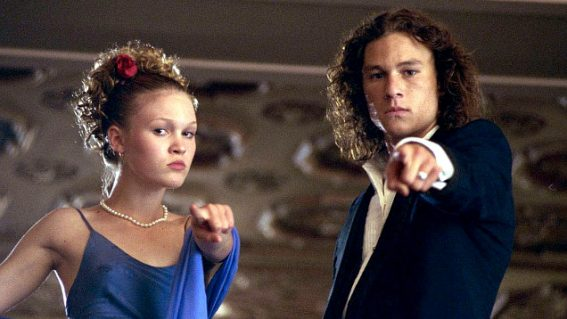 20th anniversary screenings of 10 Things I Hate About You are on this week at Moonlight Cinemas
