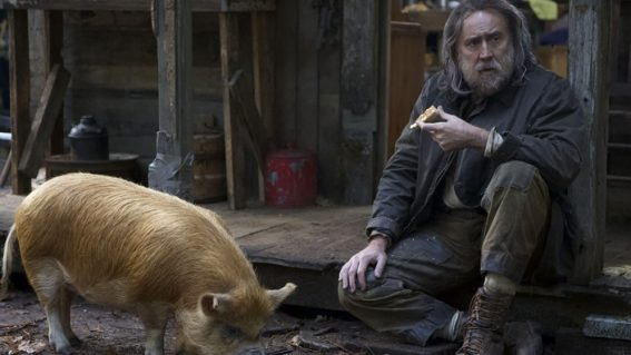 When will the Nicolas Cage movie Pig be released in Australia?