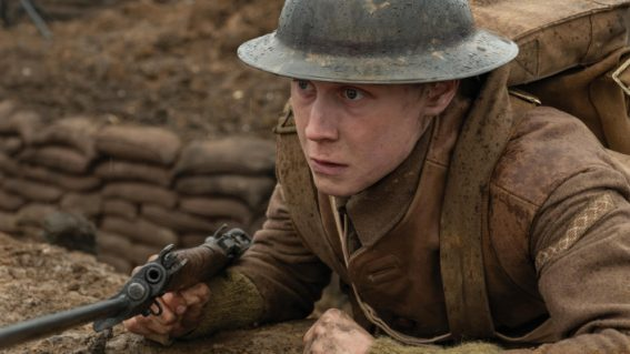 The action in 1917 is so visceral you can almost taste it