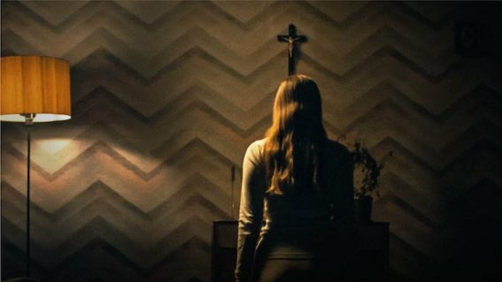 First look at the nerve-shredding horror movie Saint Maud
