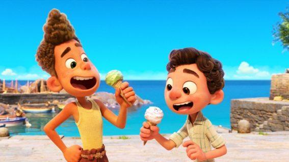 Pixar's summertime fantasy Luca is now streaming on Disney+