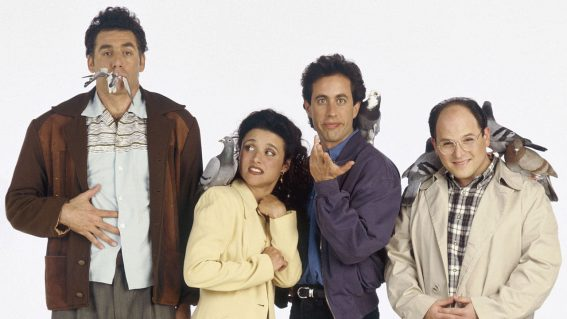 Every episode of Seinfeld is (serenity) NOW available on Netflix