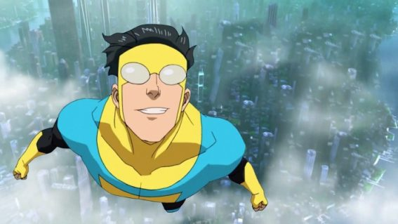 Kinetic and talent-stacked animation Invincible is now streaming on Prime Video