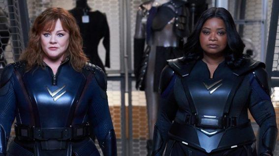 Take a peek at Netflix's unlikely superhero comedy Thunder Force