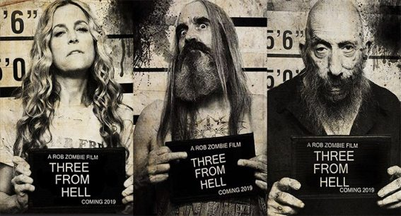 Rob Zombie's latest grotesquery 3 From Hell will screen on Halloween