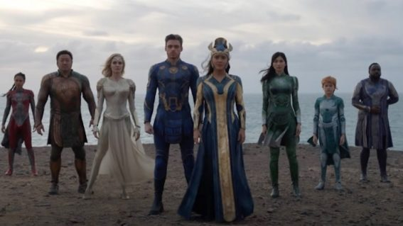 First look at Eternals, Marvel's epic ensemble of immortal alien heroes