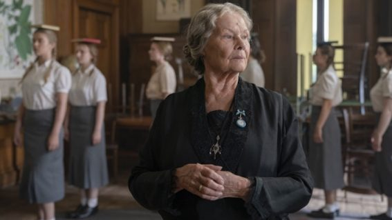 Judi Dench's WWII drama Six Minutes To Midnight is now playing in cinemas