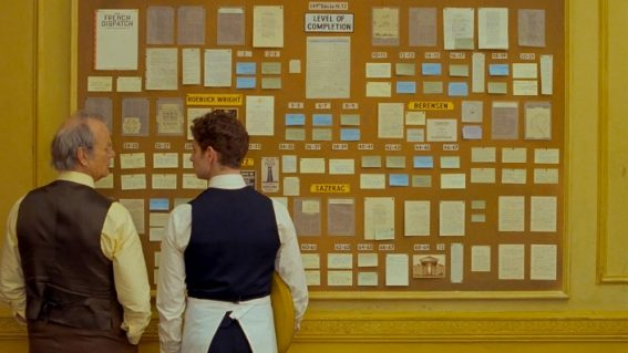 When will Wes Anderson's film The French Dispatch be released in Australia?