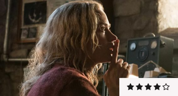 A Quiet Place review:  the result is almost unbearable suspense