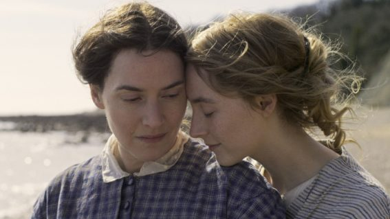 There's a distinct lack of spark between Kate Winslet and Saoirse Ronan in Ammonite
