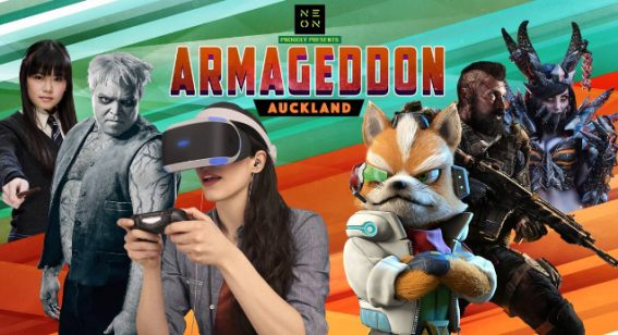 The gaming highlights of Armageddon 2018