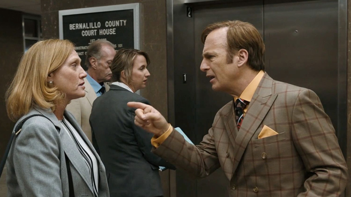 Bob Odenkirk in Better Call Saul court house