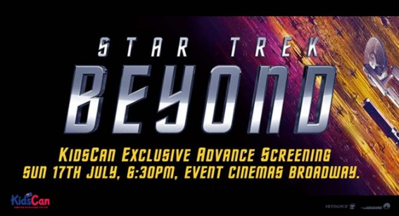 See 'Star Trek Beyond' First and support KidsCan