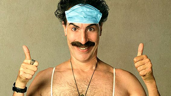 A new Borat movie's coming! Here's where you can see it