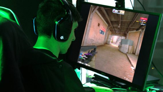 Enjoy the gunplay and action thrills of Counter Strike pros from the comfort of your couch