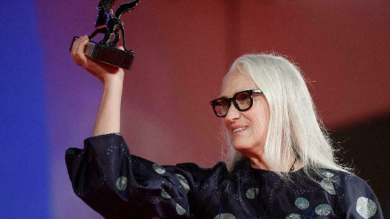 Jane Campion wins Best Director at Venice Film Fest for The Power of the Dog