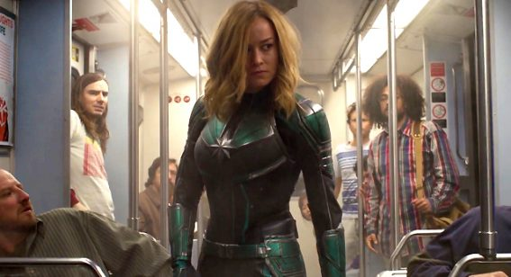 Critics praise Captain Marvel as 'a fun 90s superhero throwback'