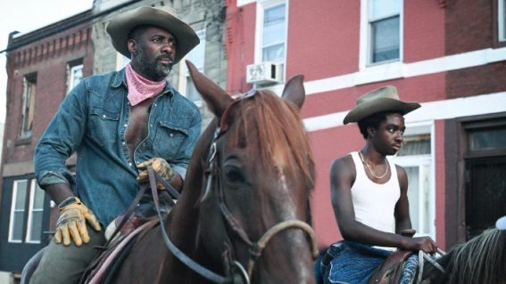 Saddle up for Idris Elba and Caleb Laughlin in Netflix's Concrete Cowboy