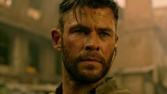 Extraction is a forgettable action movie starring Chris Hemsworth as a cranky alpha male