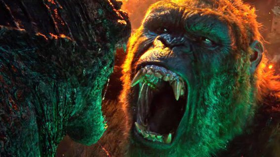 Big brawls crackle with imagination in otherwise incomprehensible Godzilla vs. Kong
