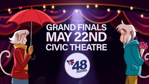 Win double passes to the Vista Foundation 48Hours Grand Finals