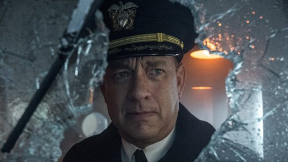 Tom Hanks is the WWII captain now in Greyhound