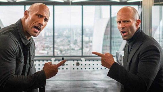 Hobbs & Shaw keep putting each other down (and butts on seats in NZ)