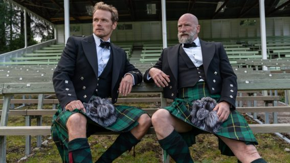 Men in Kilts finds out what's beneath the tartan of two Outlander stars