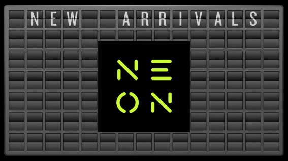 New Arrivals to Neon for July 2016