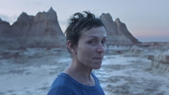 Nomadland is a masterful character study led by a stellar Frances McDormand