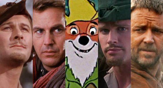 Cinema's obsession with Robin Hood through the years