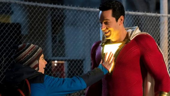 What critics are saying about the superhero comedy Shazam!