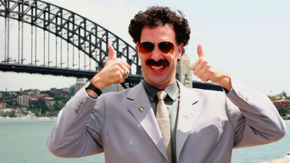 6 wild things that happened when Borat visited Australia in 2006