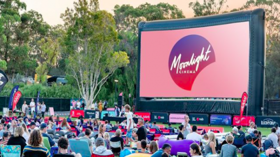 Moonlight Cinema is back this summer, all across Australia!