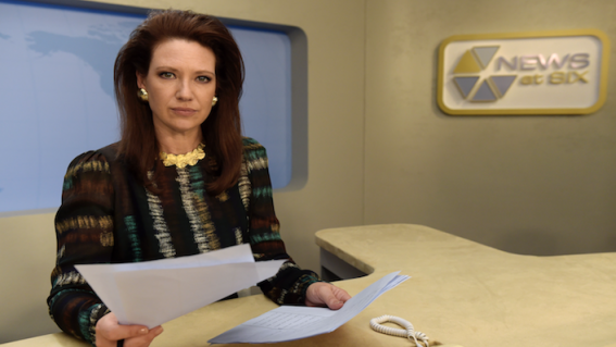 The Newsreader creator Michael Lucas takes us on his tour of an 80s Aussie newsroom