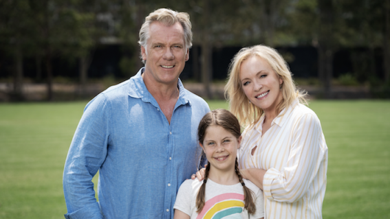 Here's the first look at the return of TV's Rafter family in Back to the Rafters