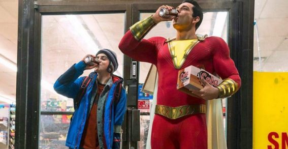 Shazam! leans into its goofiness, embracing a unique, weird energy
