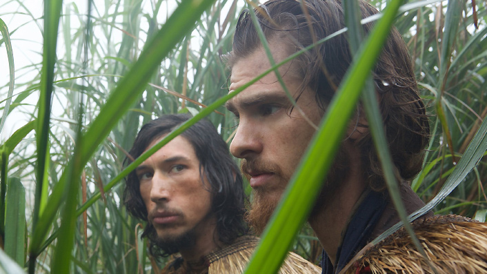 Andrew Garfield and Adam Driver in Silence