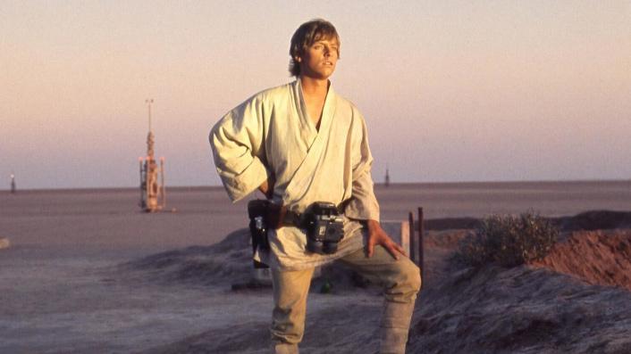 Mark Hamill as Luke Sjywalker in Star Wars