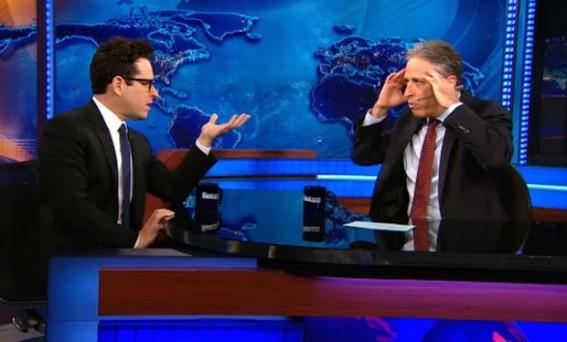 J.J. Abrams Talks Star Wars and Harrison Ford on Jon Stewart