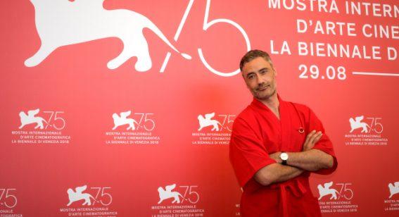 "Jury member Taika Waititi tells Venice Film Festival he's the ""Tarkovsky of comedy"""