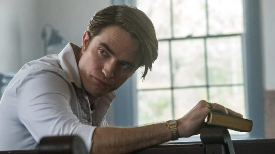 Robert Pattinson sleazes up the screen in Netflix's bloody dark The Devil All the Time