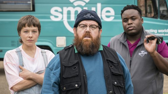 Nick Frost and Simon Pegg's Truth Seekers is a supernatural comedy on autopilot