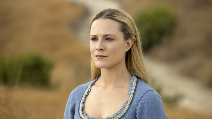 Evan Rachel Wood in Westworld season 3 finale