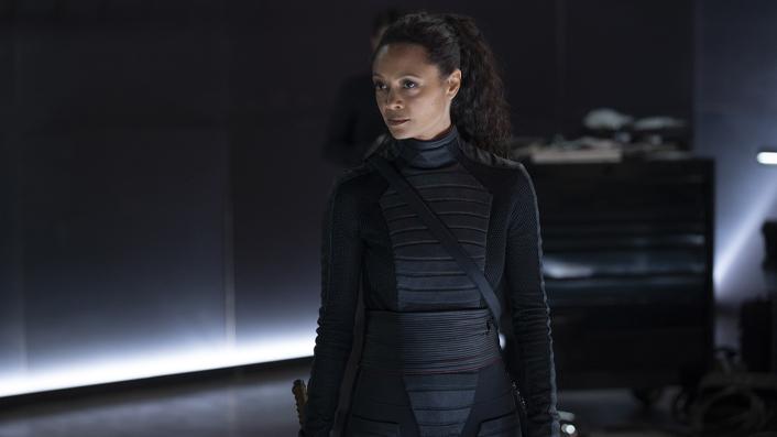 Thandie Newton in Westworld season 3 finale
