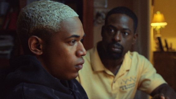 Waves is a visually intoxicating drama about a black American family