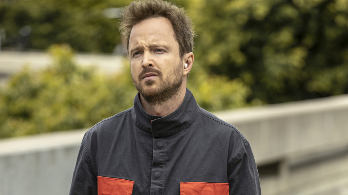 Aaron Paul in Westworld season three