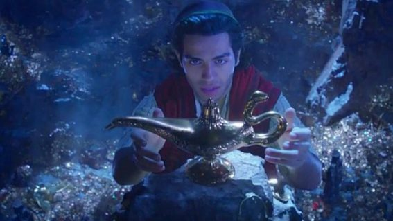 Watch the first trailer for Disney's new live-action Aladdin movie